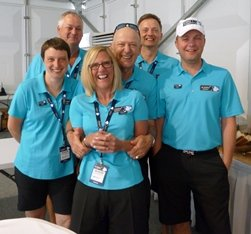 Skipton GC volunteers and honorary Skipton member